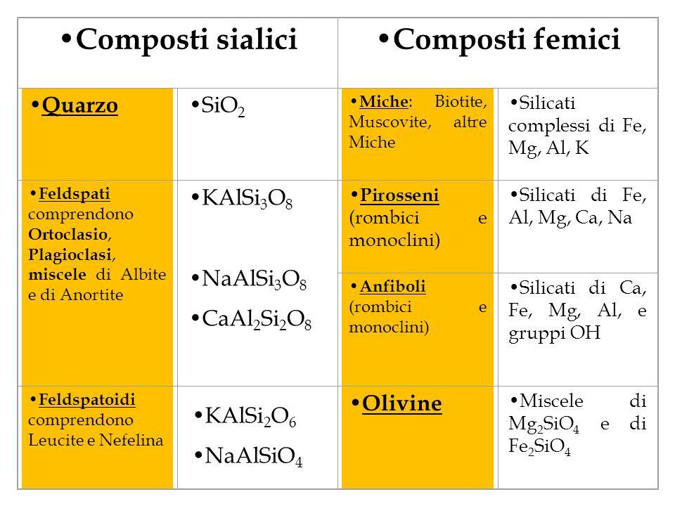 Composti sialici Composti femici