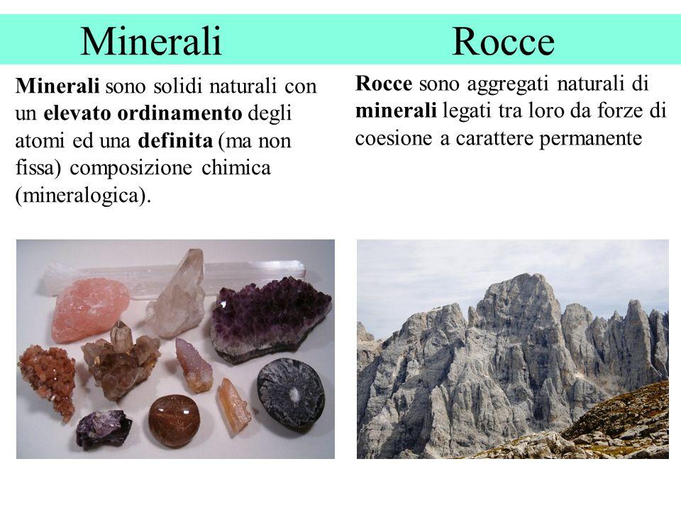 Minerali Rocce