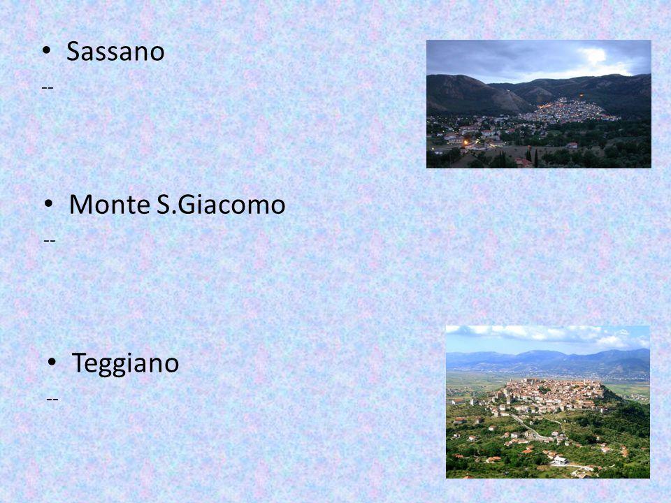 Sassano -- Monte S.Giacomo -- Teggiano --