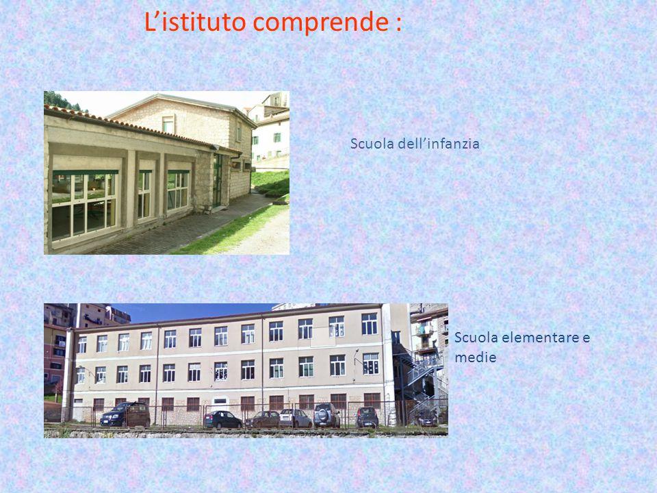 L'istituto comprende :