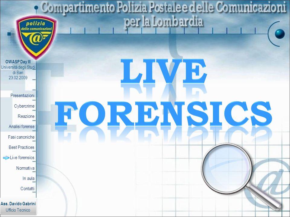 Live Forensics