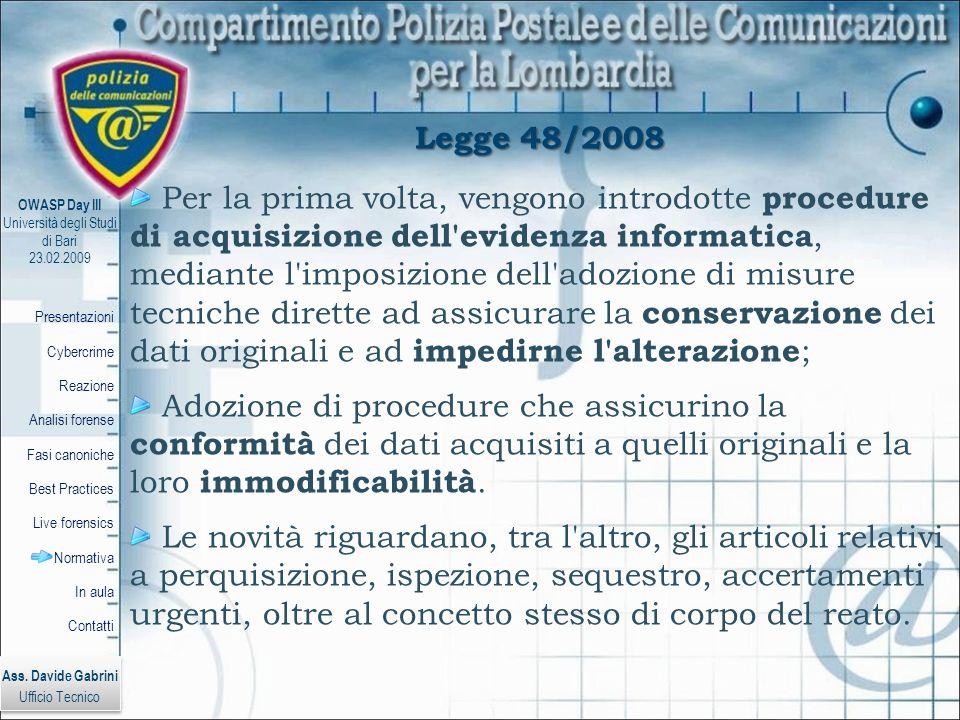 Legge 48/2008