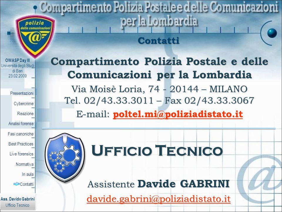 Compartimento Polizia Postale e delle Comunicazioni per la Lombardia