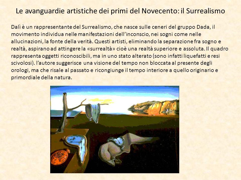 Le avanguardie artistiche dei primi del Novecento: il Surrealismo