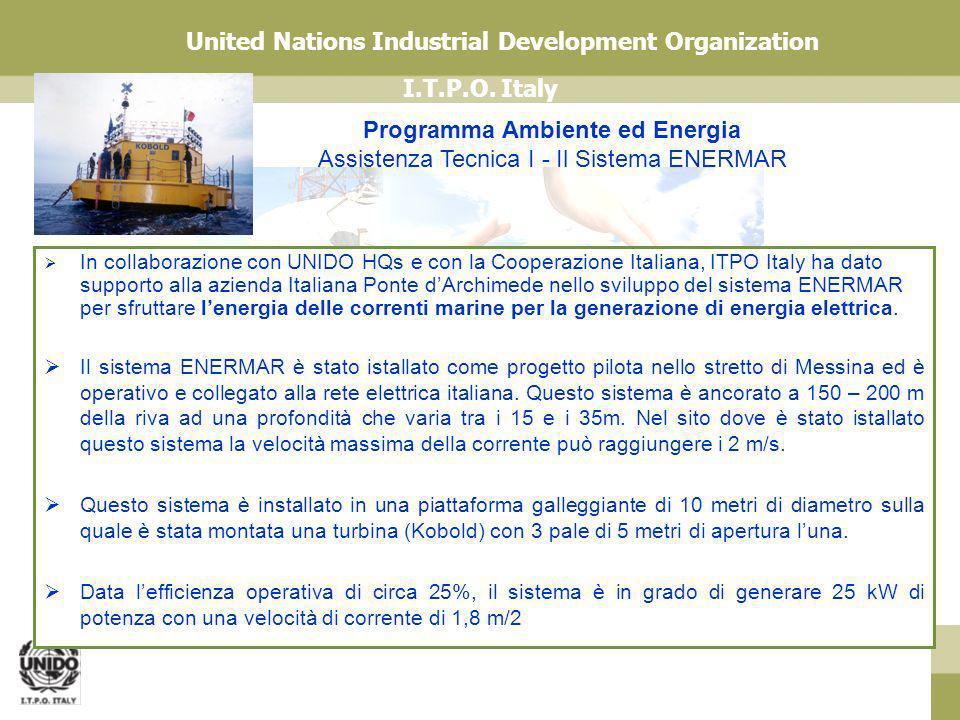 Programma Ambiente ed Energia Assistenza Tecnica I - Il Sistema ENERMAR