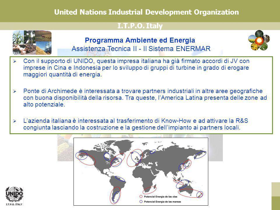 Programma Ambiente ed Energia Assistenza Tecnica II - Il Sistema ENERMAR