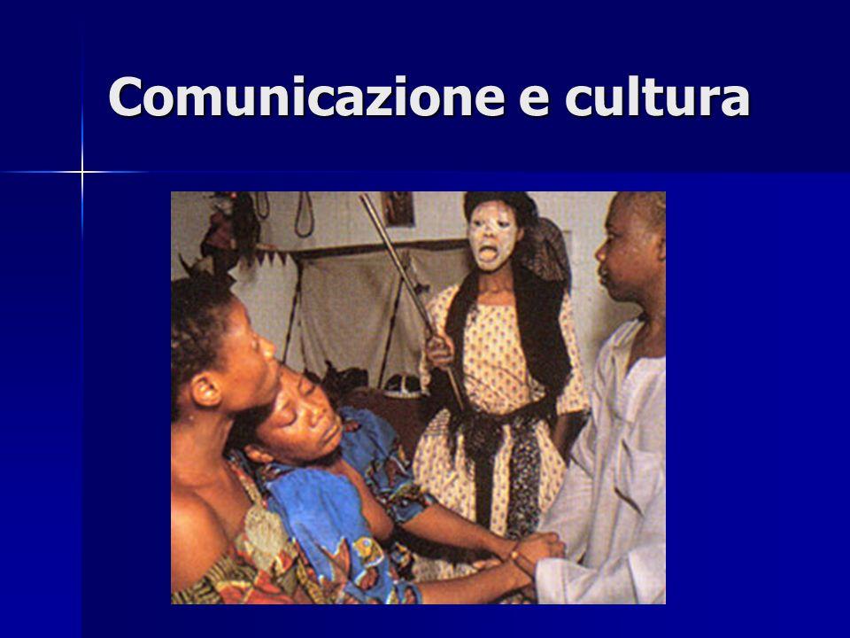 Comunicazione e cultura