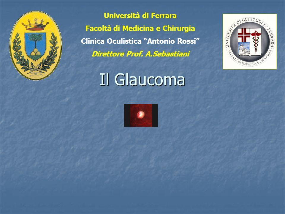 Il Glaucoma Università di Ferrara Facoltà di Medicina e Chirurgia