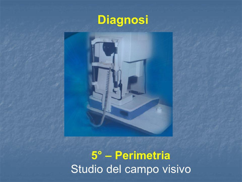 5° – Perimetria Studio del campo visivo