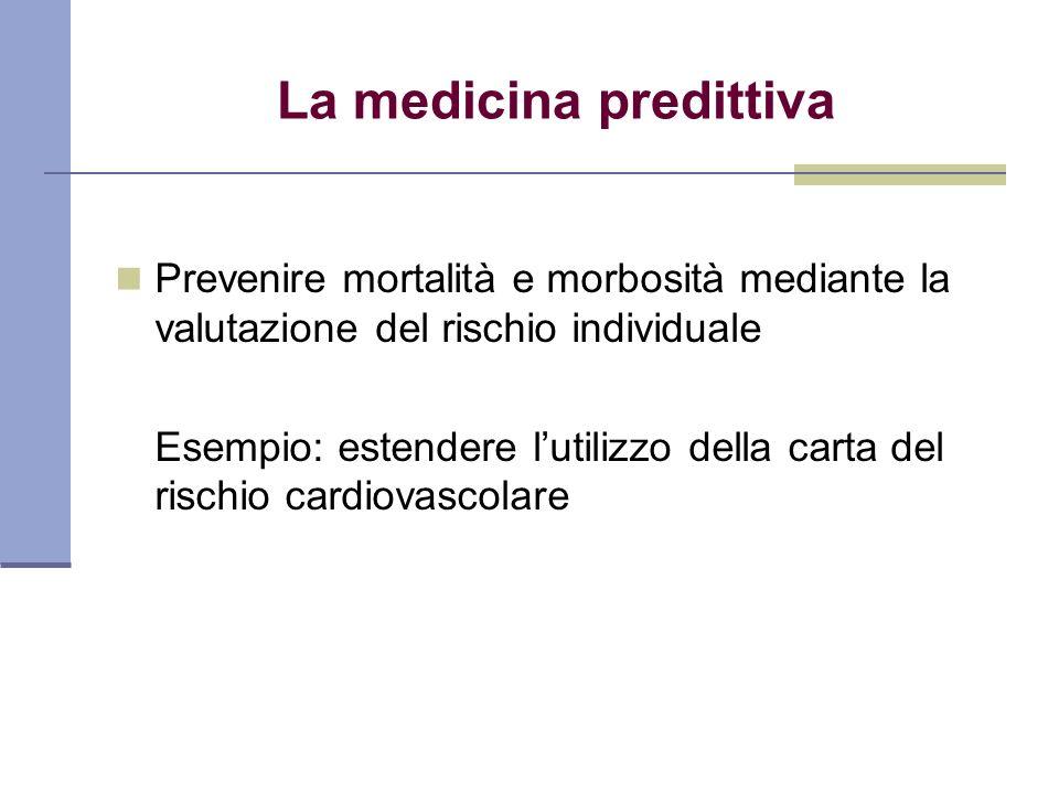 La medicina predittiva