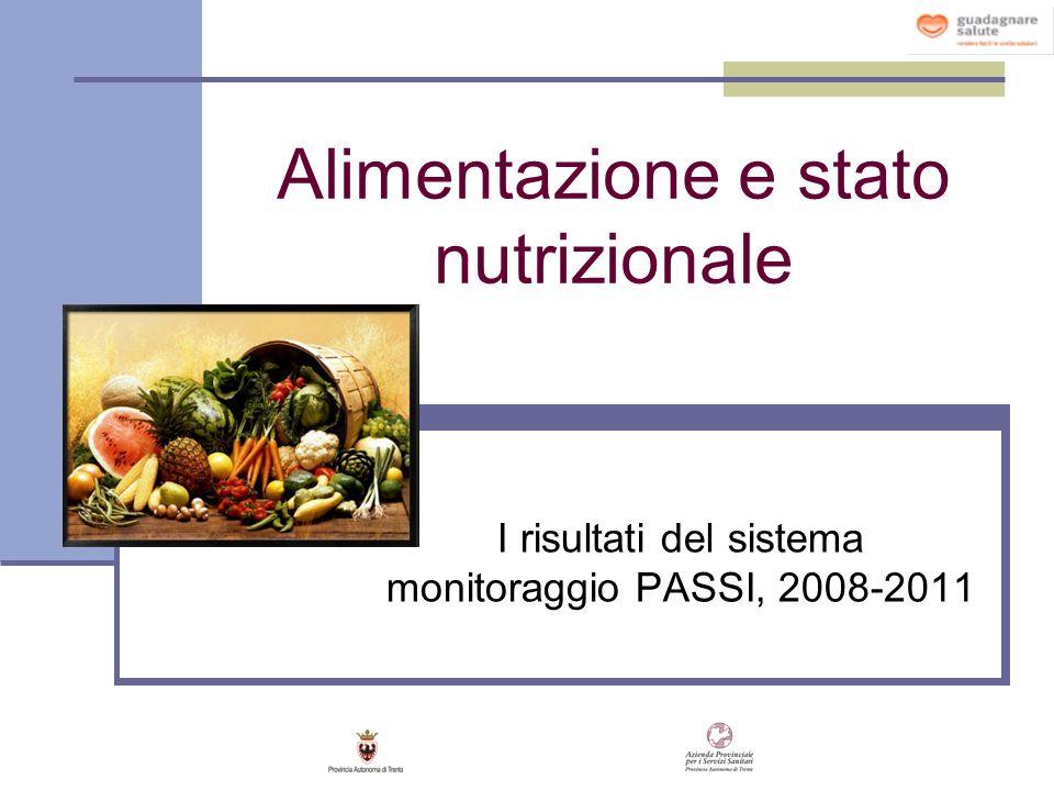 Alimentazione e stato nutrizionale