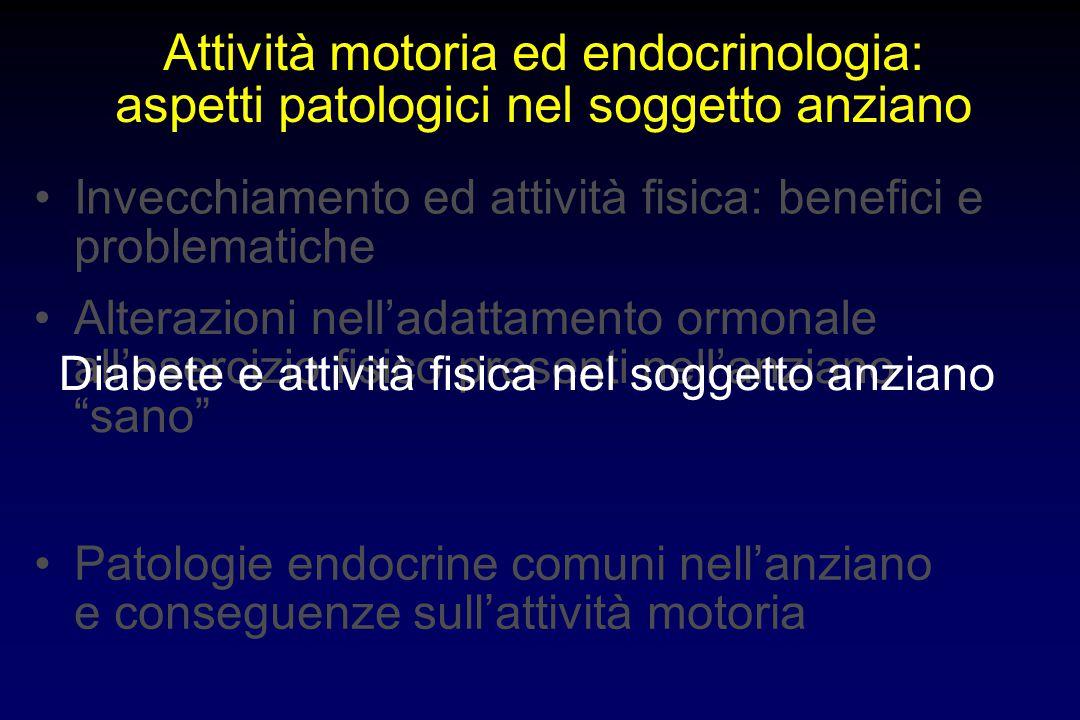 Attività motoria ed endocrinologia:
