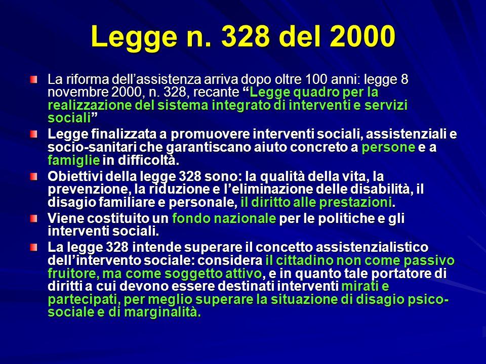 Legge n. 328 del 2000