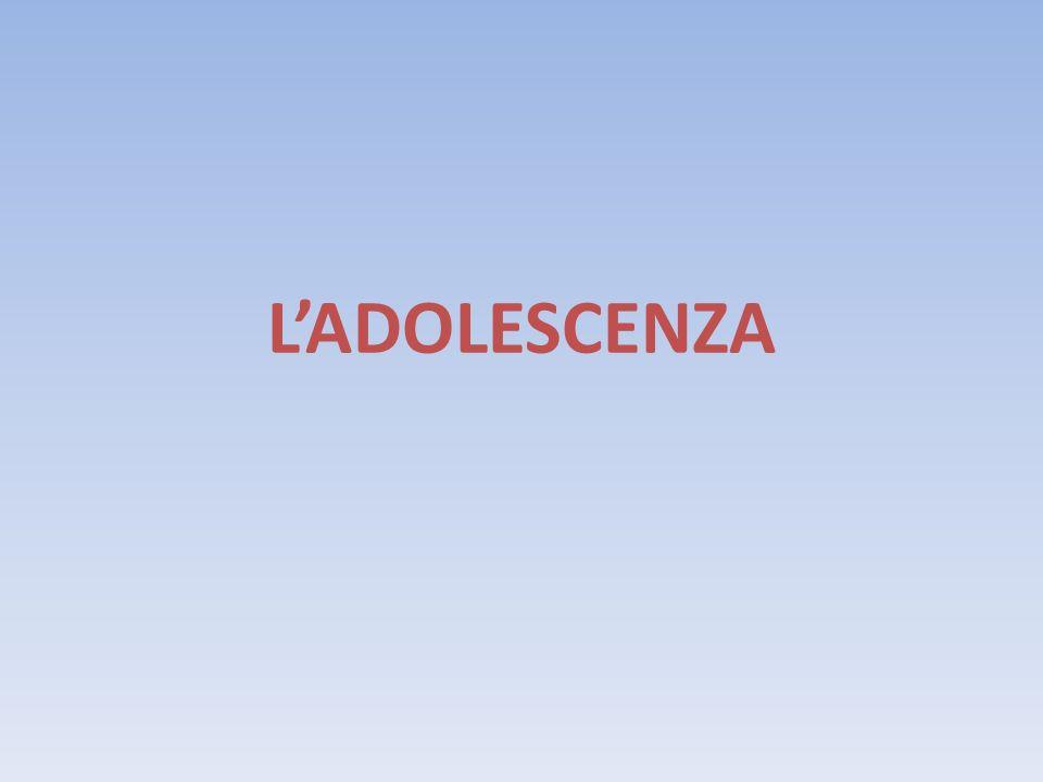 L'ADOLESCENZA