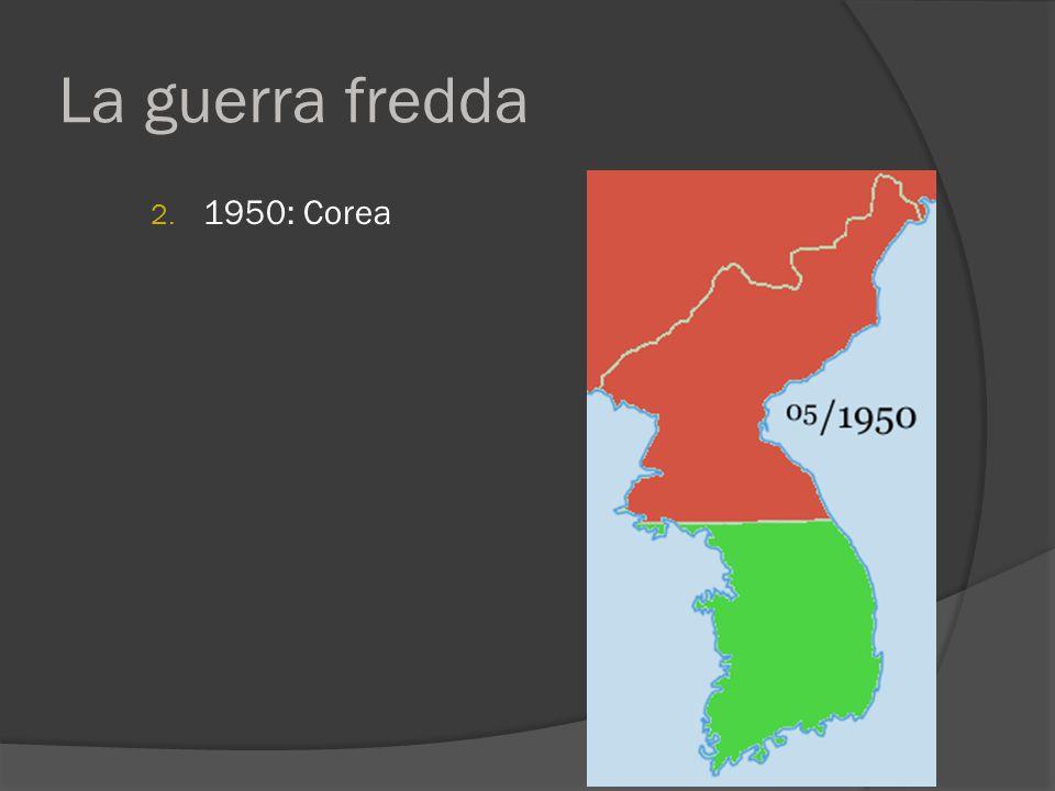 La guerra fredda 1950: Corea