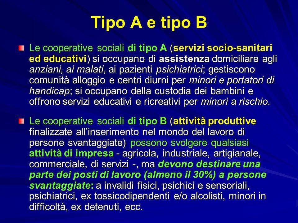 Tipo A e tipo B