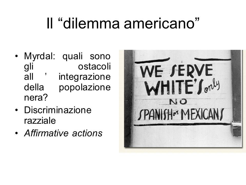 Il dilemma americano