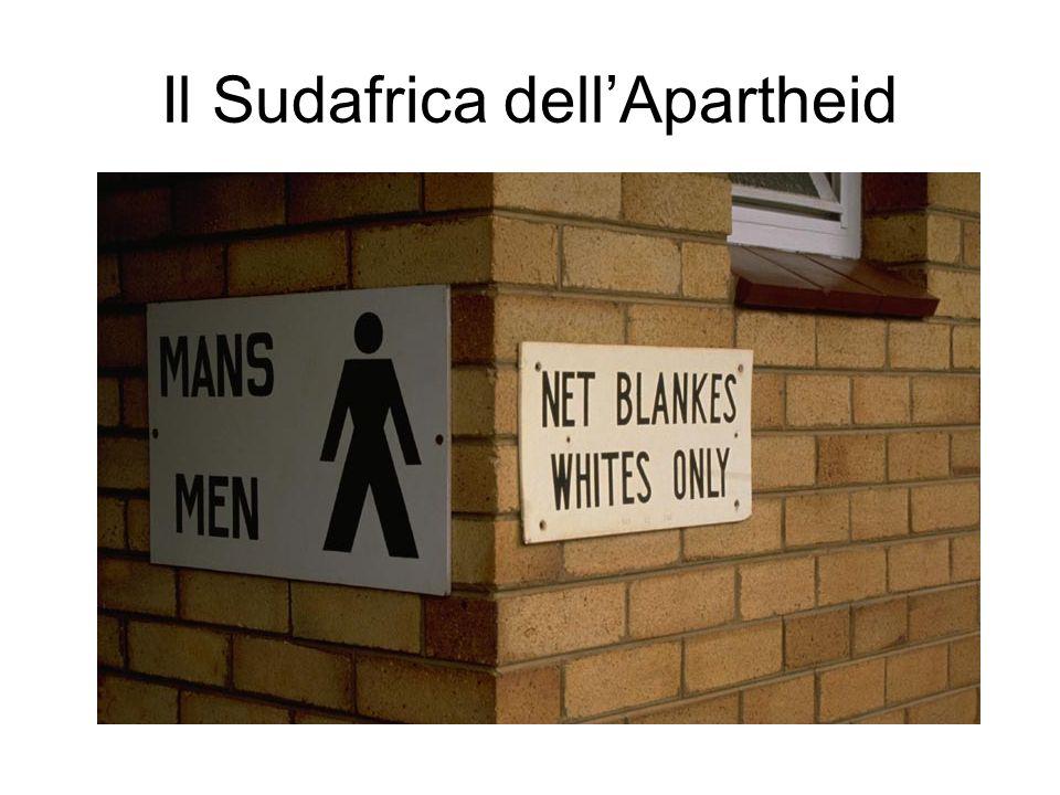 Il Sudafrica dell'Apartheid