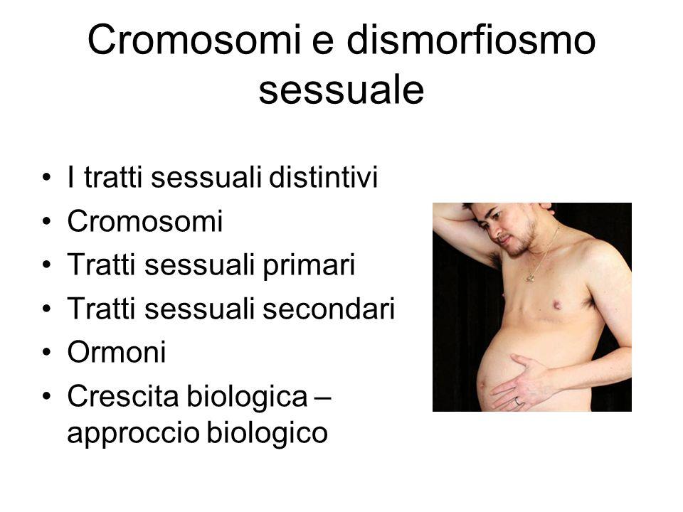 Cromosomi e dismorfiosmo sessuale