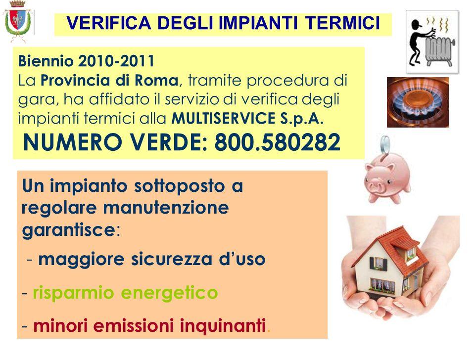 Provincia di Roma - Dip. IV Servizio 4