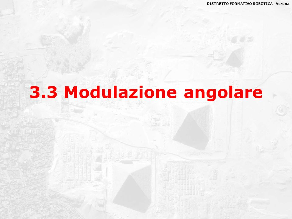 3.3 Modulazione angolare