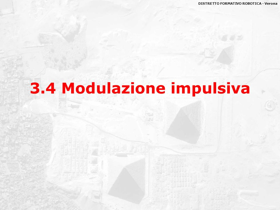 3.4 Modulazione impulsiva