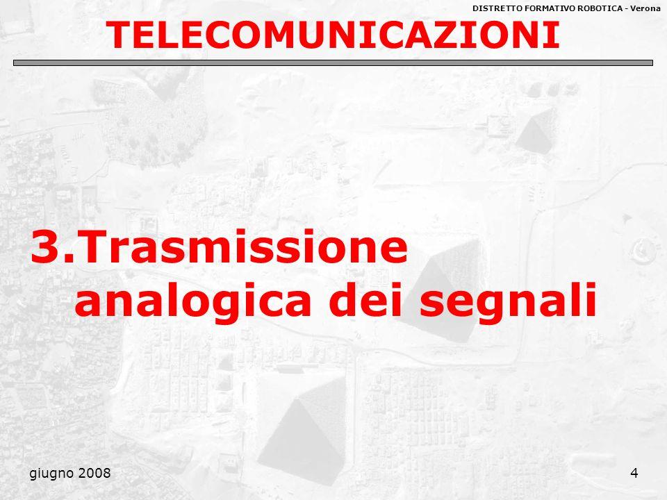 3.Trasmissione analogica dei segnali