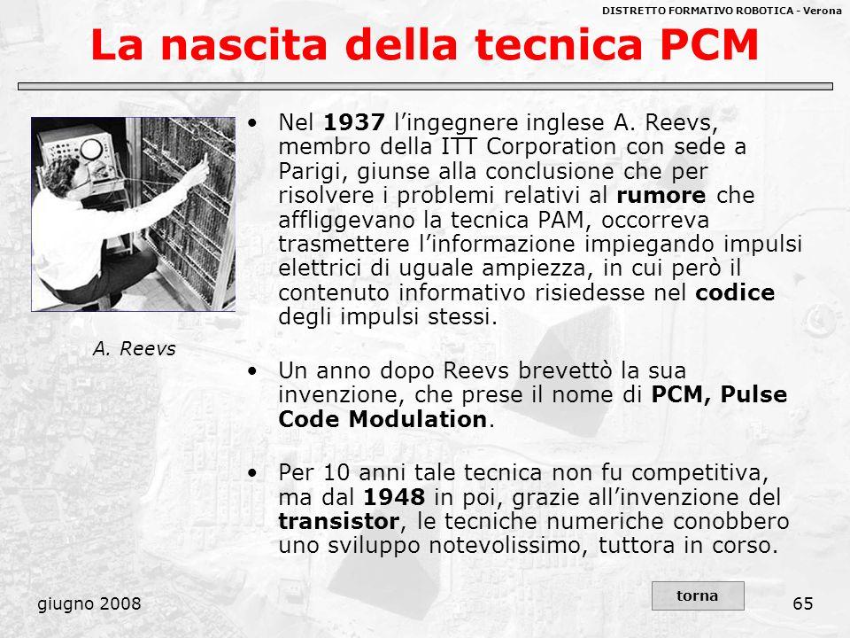 La nascita della tecnica PCM