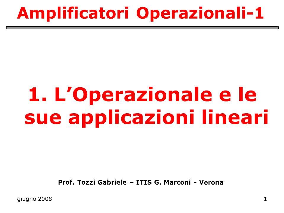 Amplificatori Operazionali-1