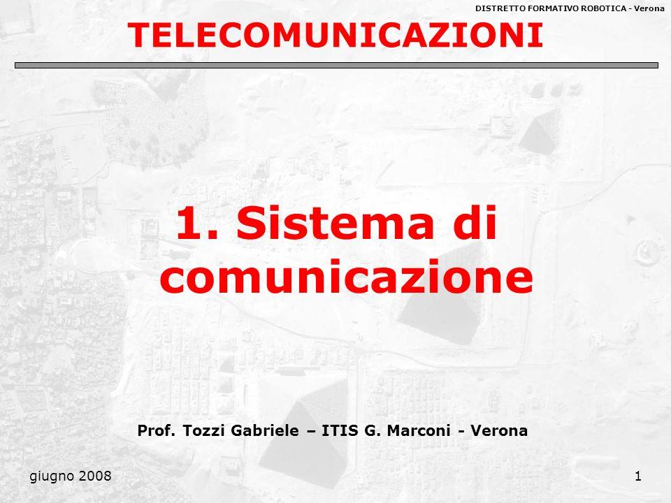 1. Sistema di comunicazione