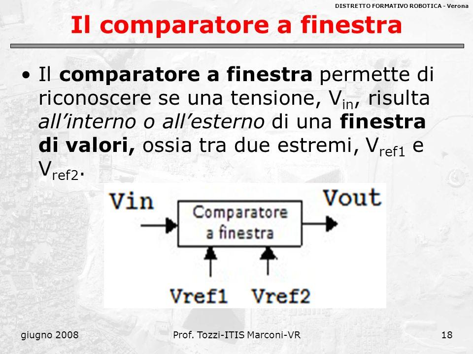 Amplificatori operazionali 2 ppt video online scaricare - Comparatore a finestra ...