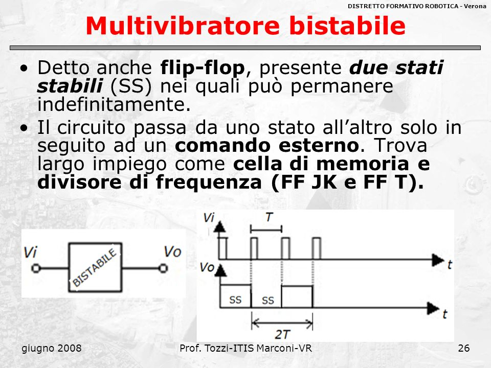 Multivibratore bistabile