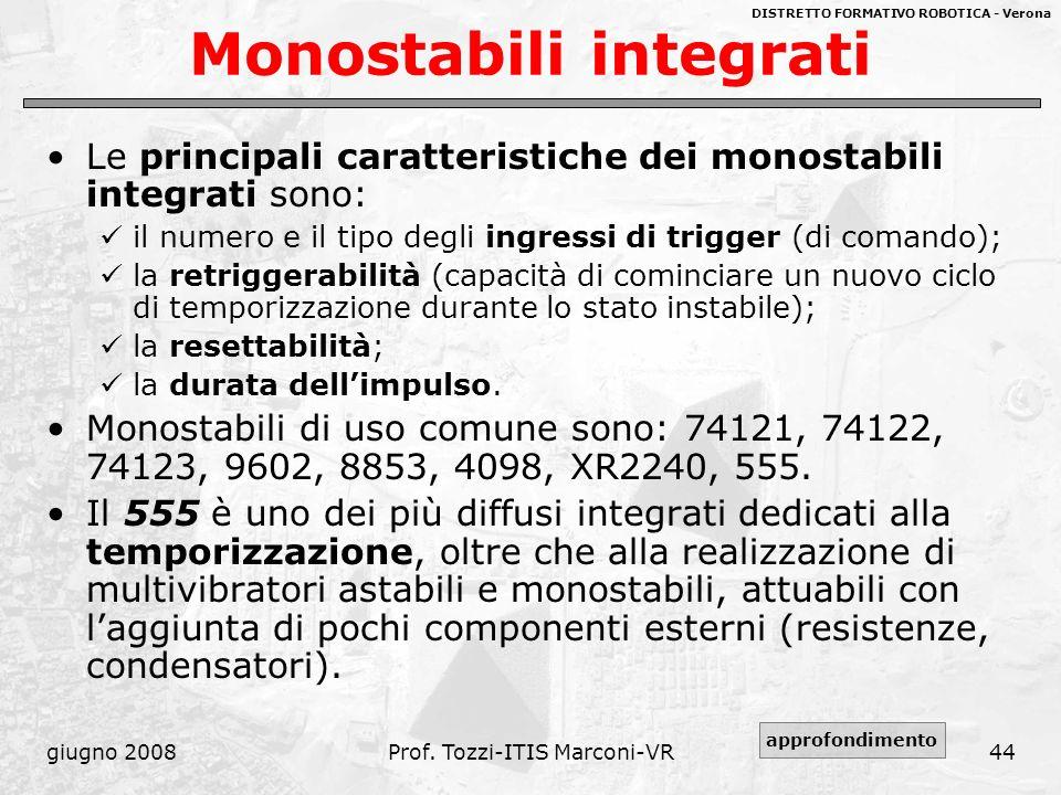 Monostabili integrati