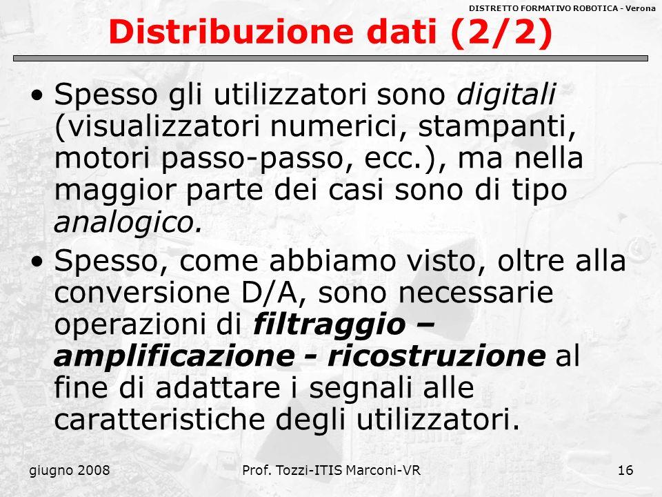 Distribuzione dati (2/2)