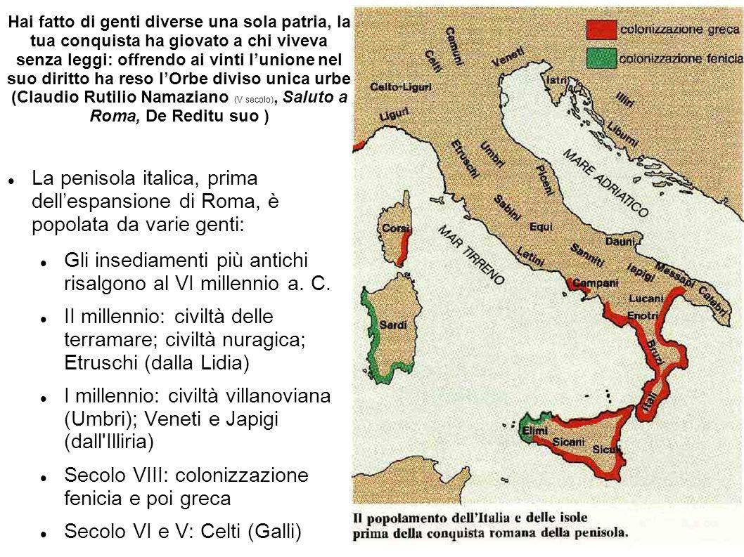 Gli insediamenti più antichi risalgono al VI millennio a. C.
