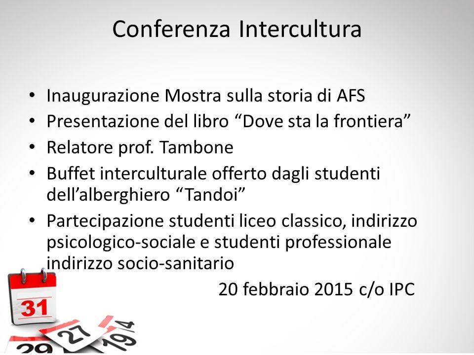 Conferenza Intercultura