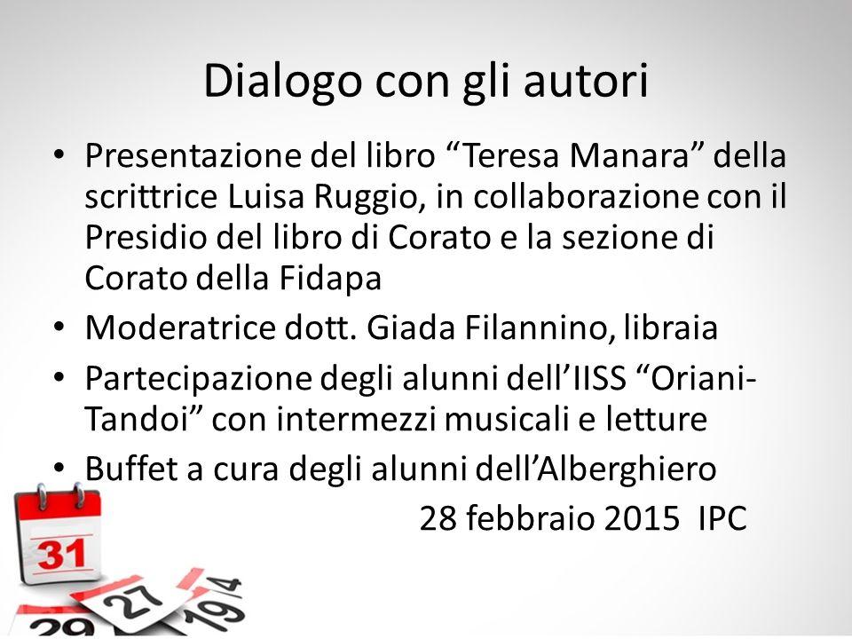 Dialogo con gli autori