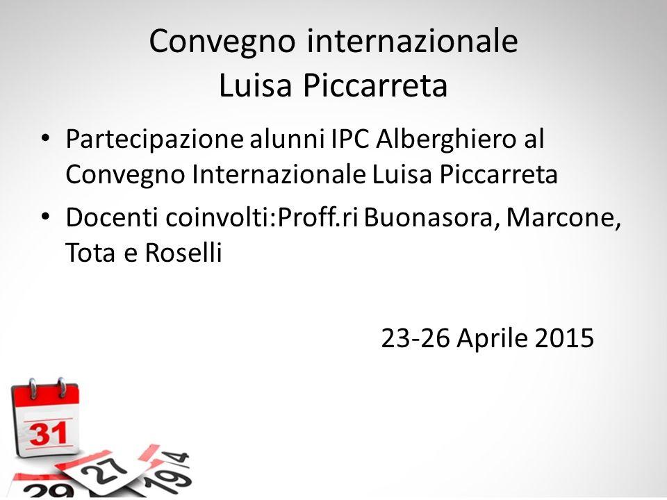 Convegno internazionale Luisa Piccarreta