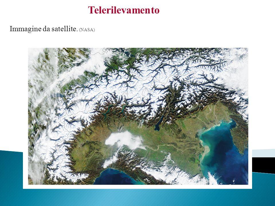 Telerilevamento Immagine da satellite. (NASA)