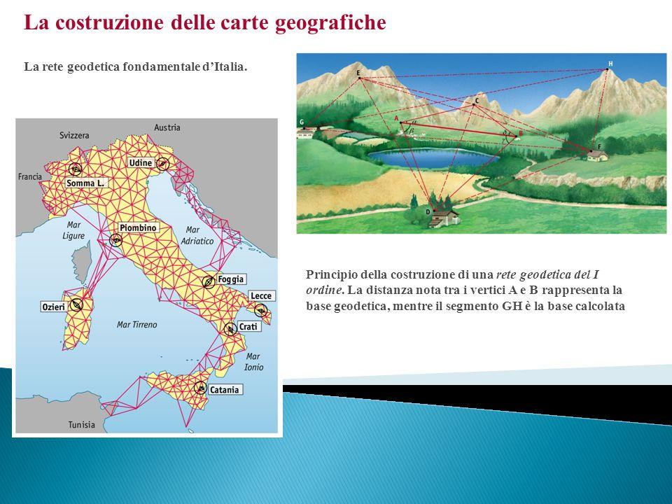 La costruzione delle carte geografiche