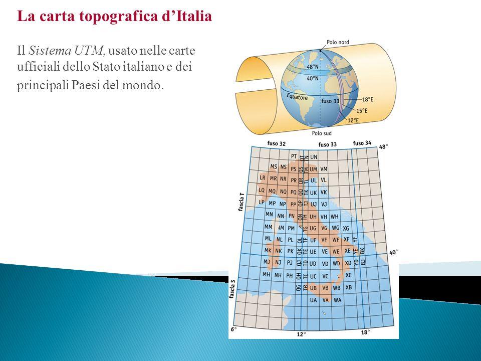 La carta topografica d'Italia