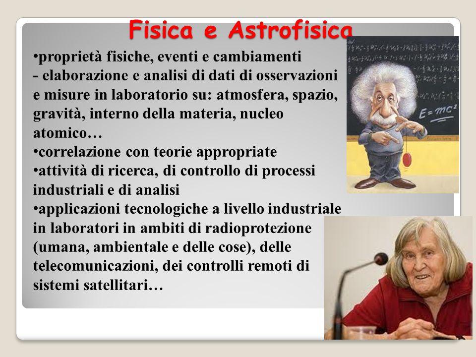Fisica e Astrofisica
