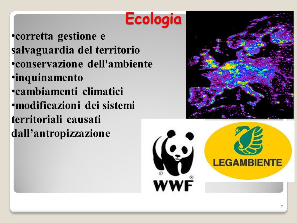 Ecologia corretta gestione e salvaguardia del territorio