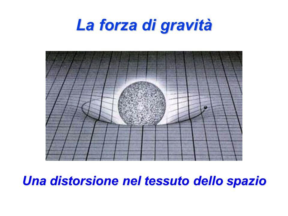 Una distorsione nel tessuto dello spazio