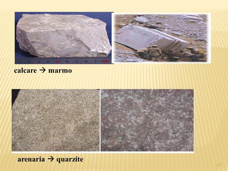 calcare  marmo arenaria  quarzite