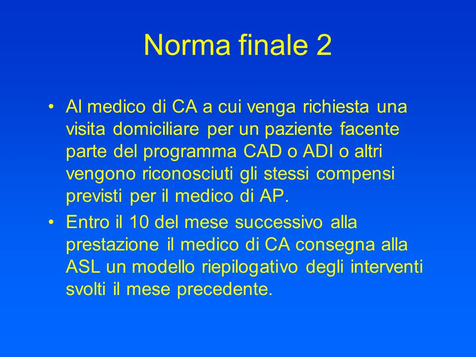 Norma finale 2