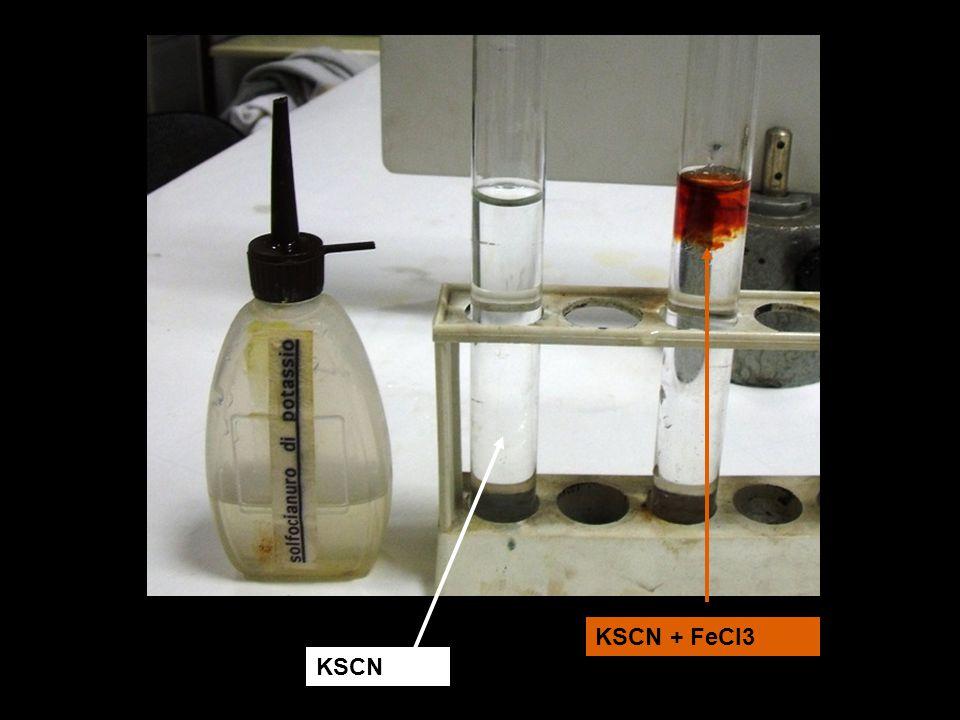 KSCN + FeCl3 KSCN