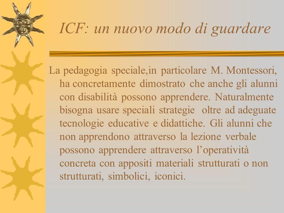 ICF: un nuovo modo di guardare
