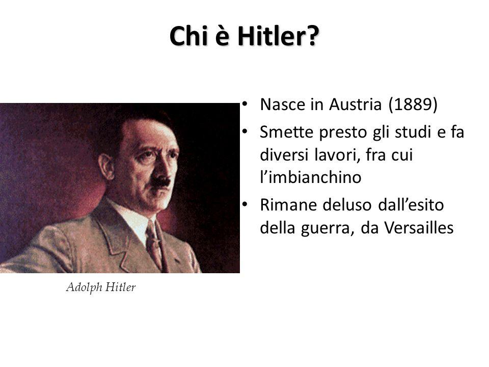 Chi è Hitler Nasce in Austria (1889)
