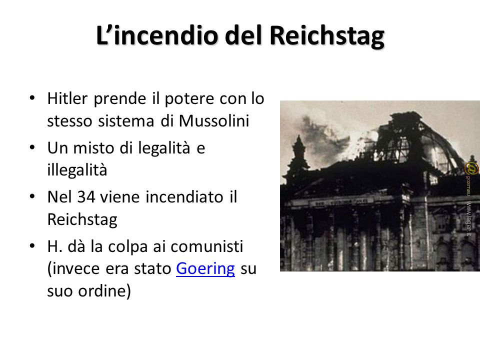 L'incendio del Reichstag